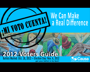 Causa's 2012 Voters Guide