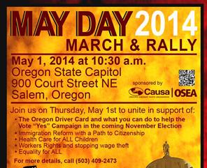 May Day 20141 de Mayo 2014