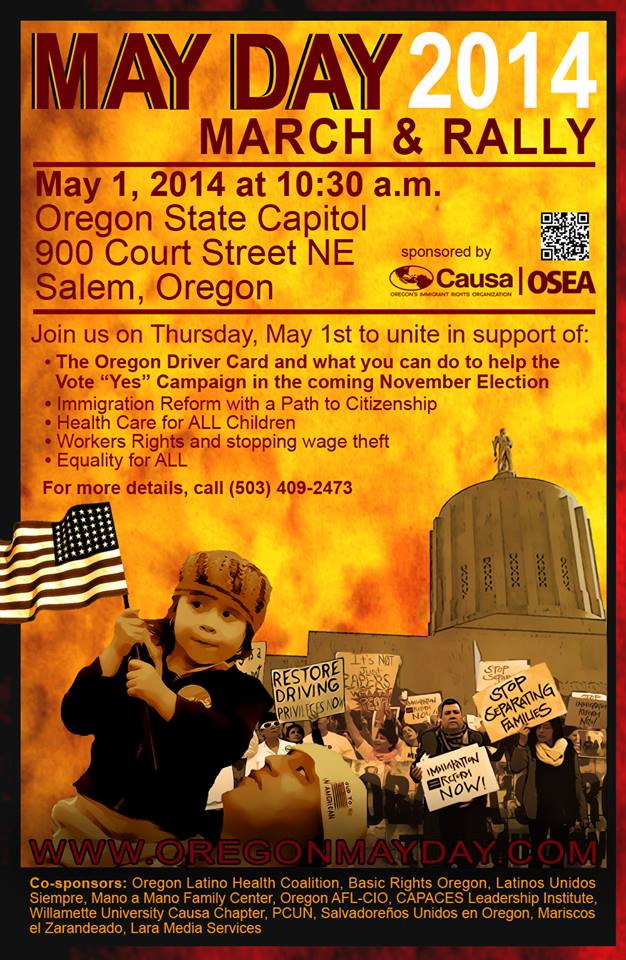 May Day 2014 Flyer
